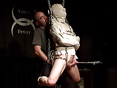straight jacket chain suspension cane