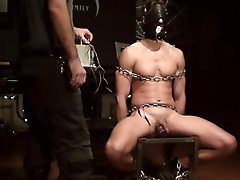 electro masks chains boots comfy chair pinwheel jerk
